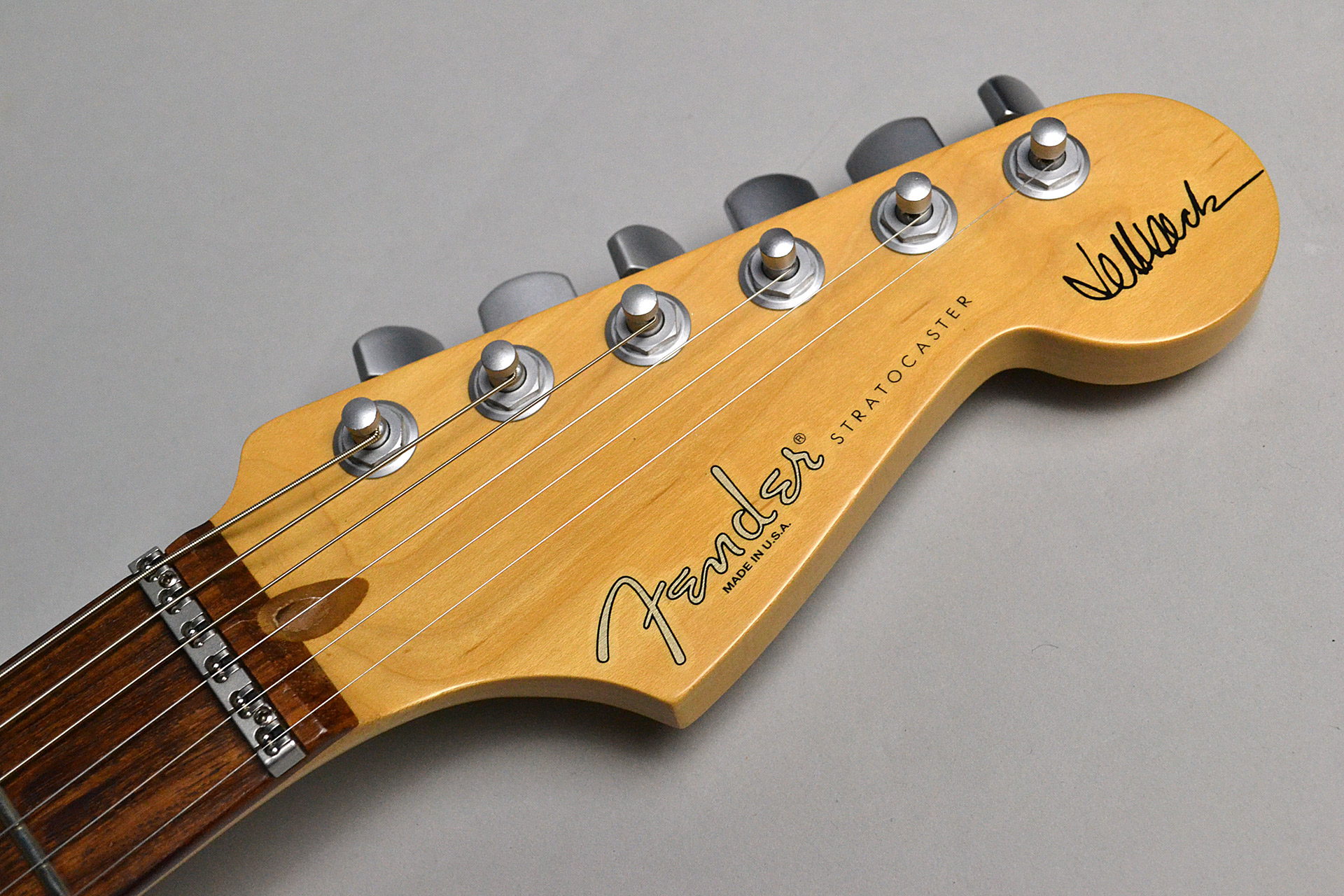 USED/ Jeff Beck Stratocaster Dual-coil Celamic Noise-less Pickupのヘッド画像