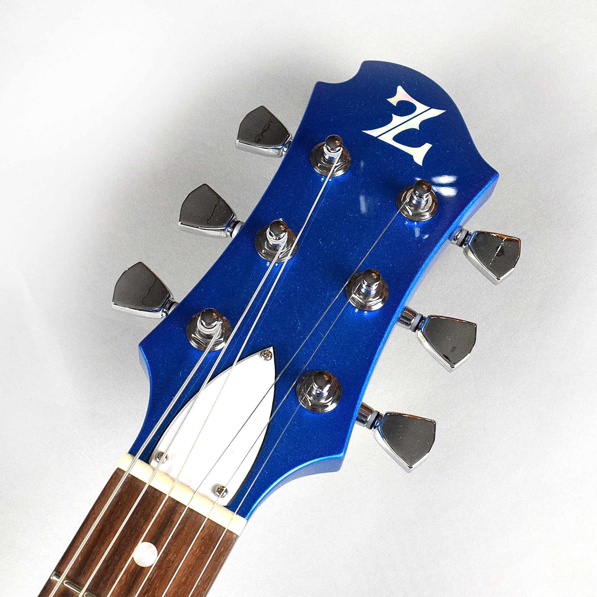 ZEMAITIS RS BLUE/WHTの指板画像