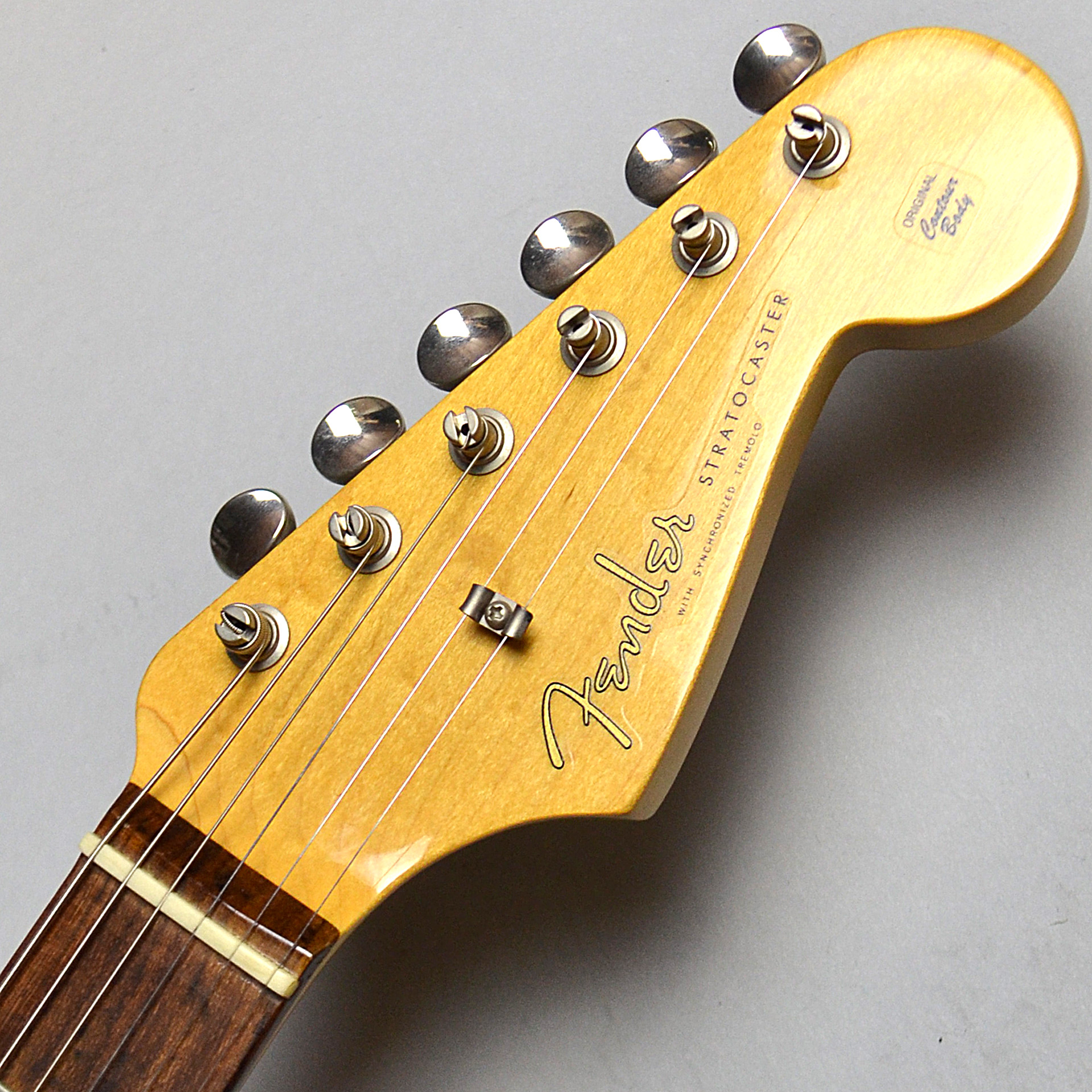 American Vintage 59 Stratocasterのヘッド画像