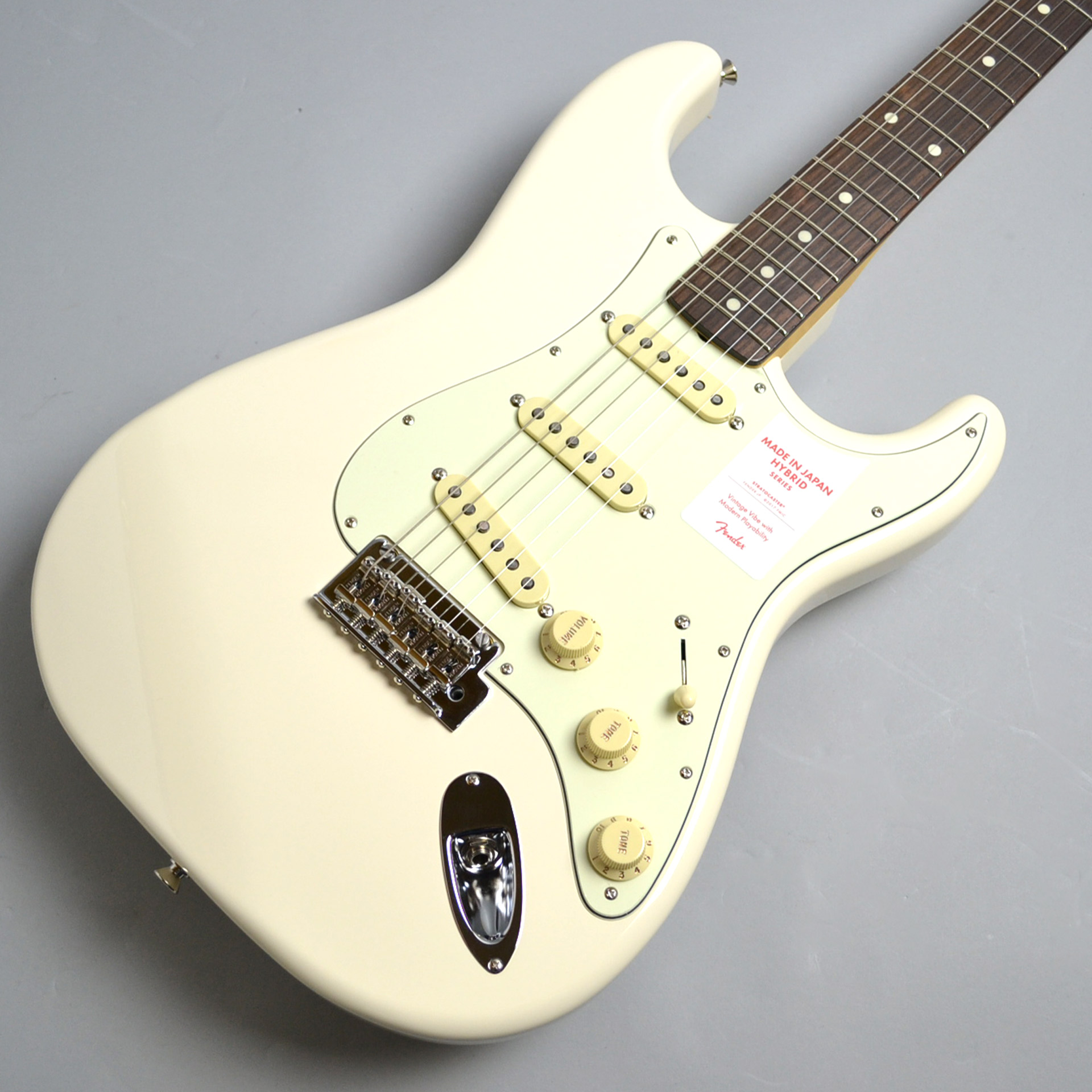 MADE IN JAPAN HYBRID 60S STRATOCASTERのボディトップ-アップ画像
