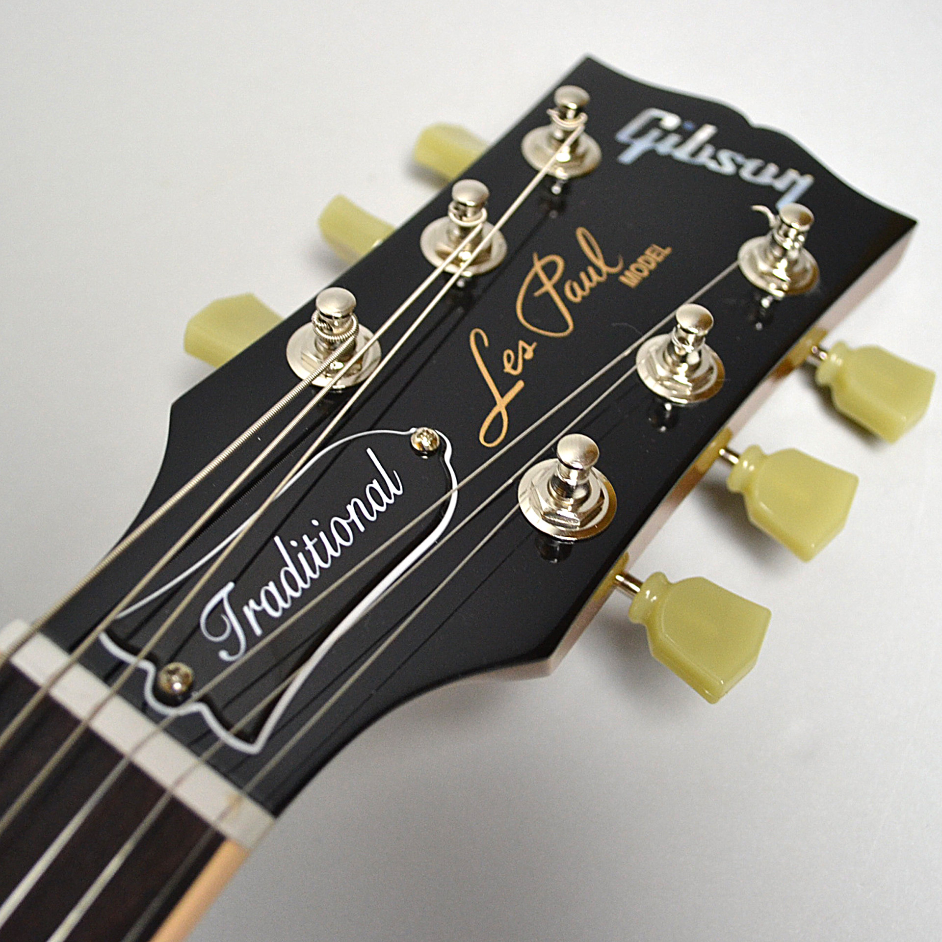 Les Paul Traditional 2018のヘッド画像