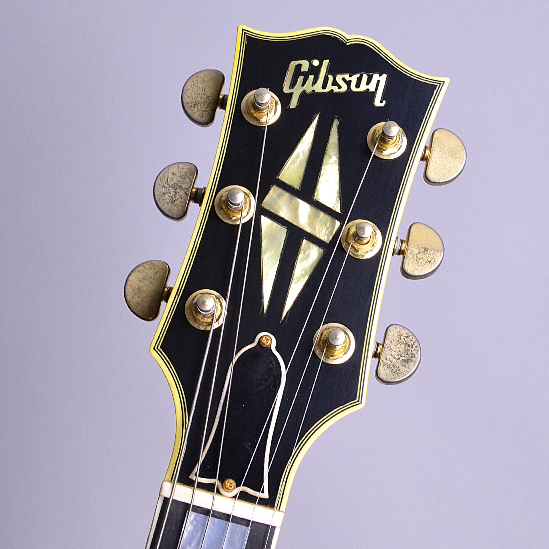 ES-355 Ebony Bigsby VOSのヘッド裏-アップ画像