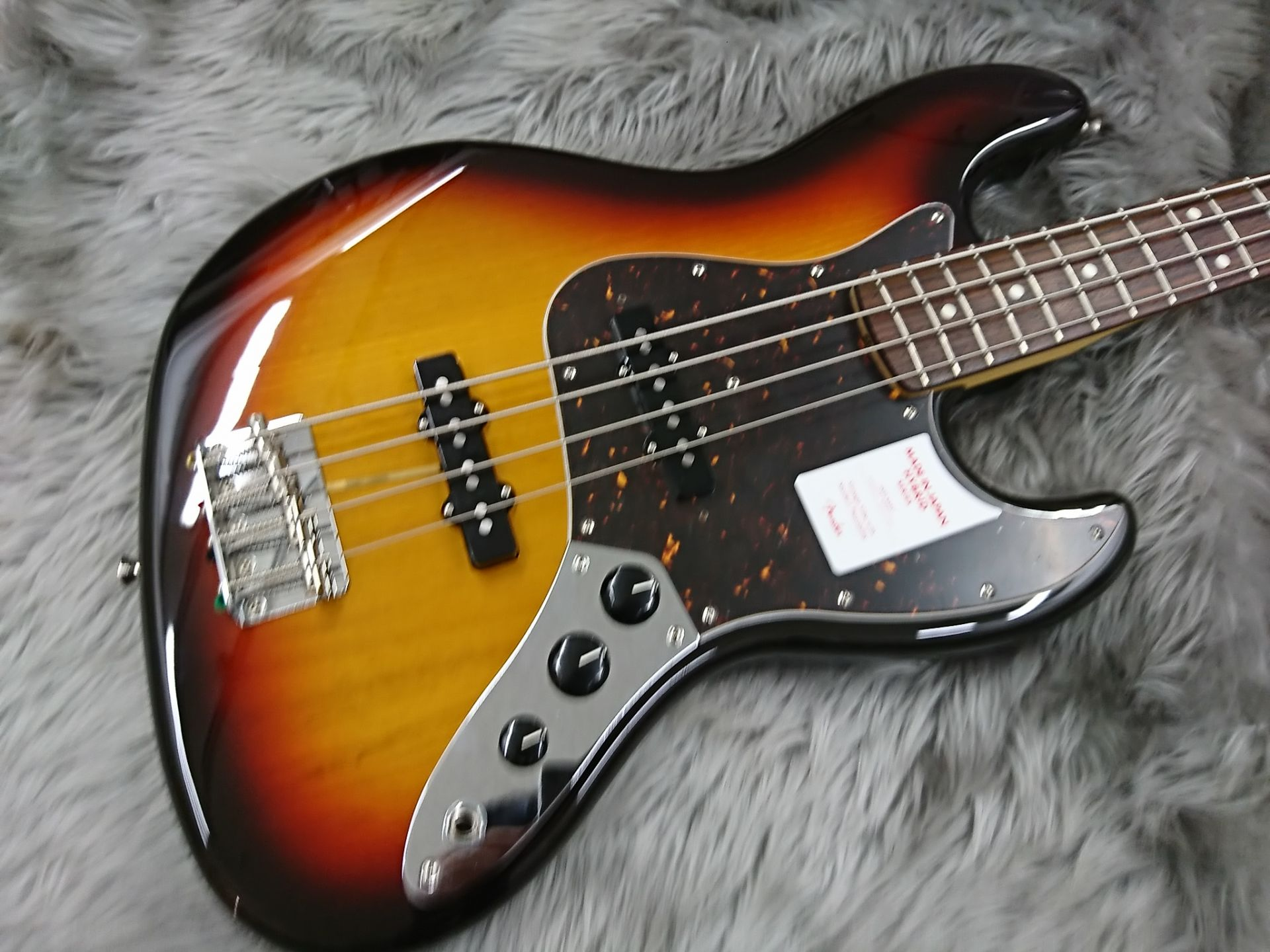 MADE IN JAPAN HYBRID 60S JAZZ BASSのボディトップ-アップ画像