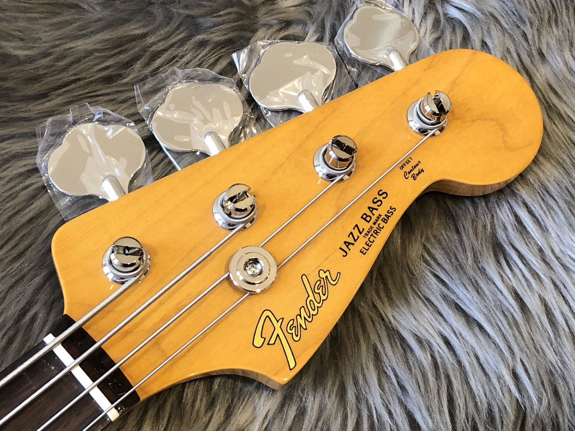 MIJ Traditional '60s Jazz Bass, Rosewoodのヘッド画像