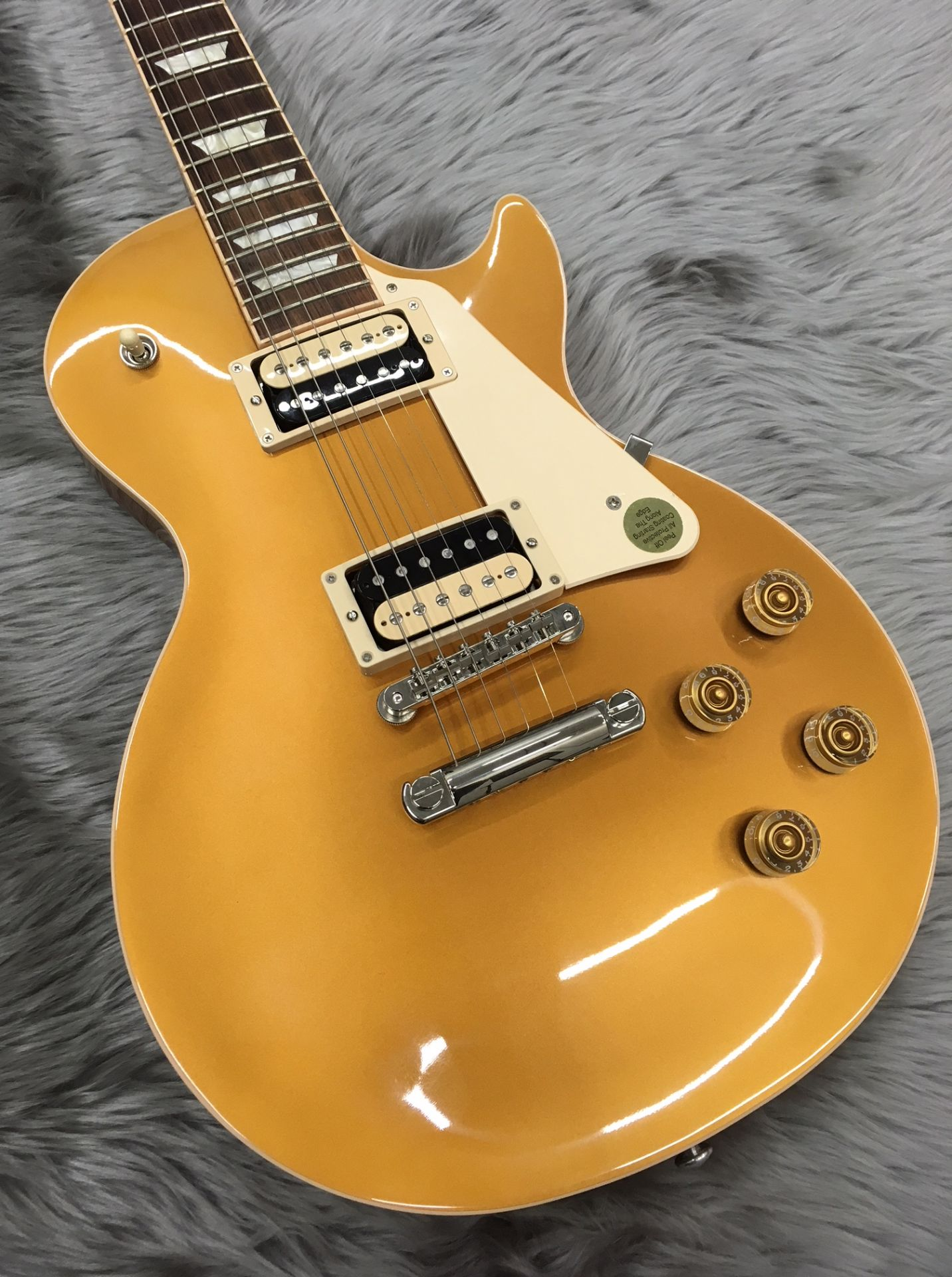 LP Classic 2017 T Gold Topのボディトップ-アップ画像