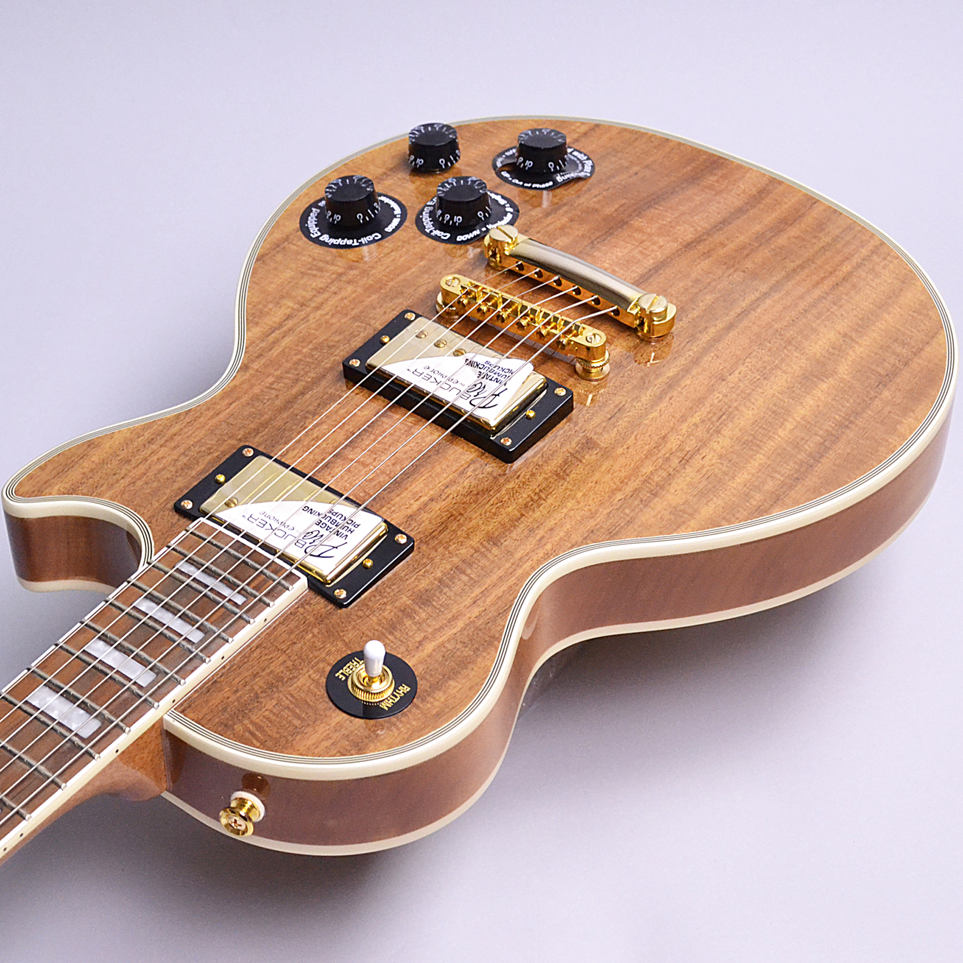 Limited Edition Les Paul Custom PRO KOAのヘッド画像