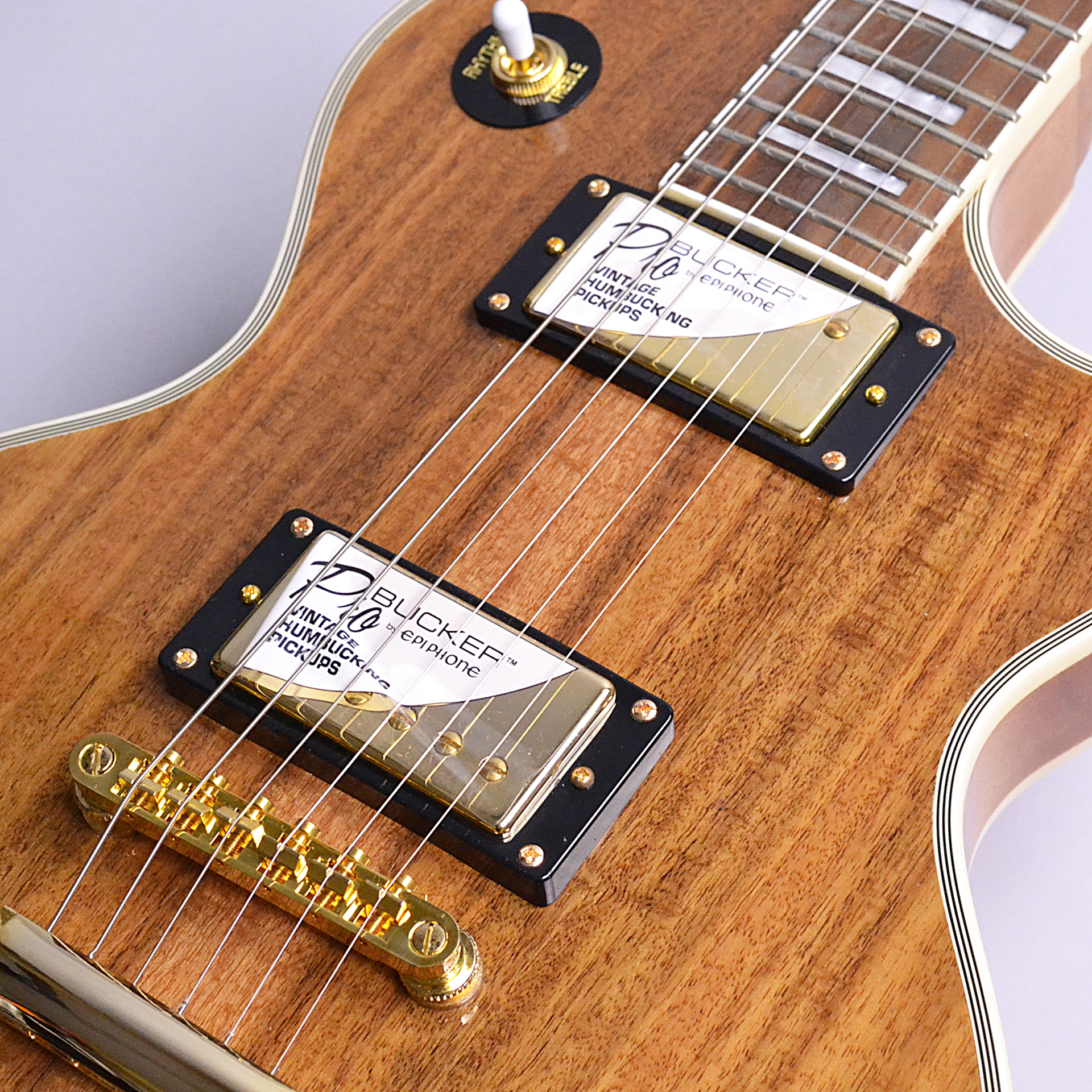Limited Edition Les Paul Custom PRO KOAのケース・その他画像