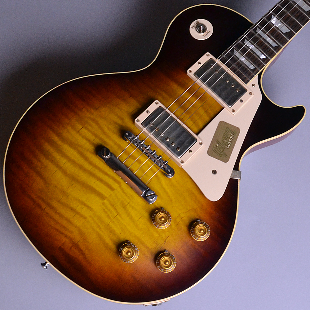 Standard Historic 1959 Les Paul Standard VOS_Faded Tobacco (FT) 【S/N:R9 61273】のボディトップ-アップ画像