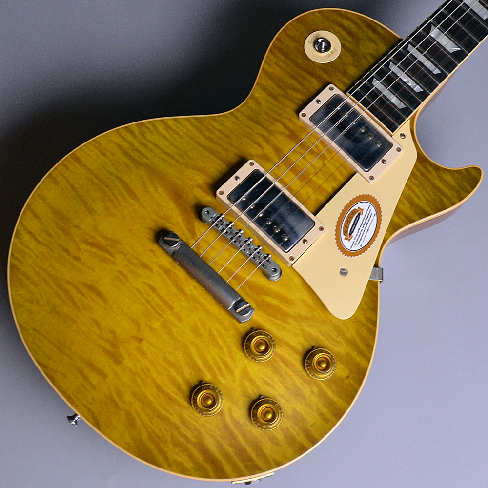 True Historic Collector's Choice #45 1959 Les Paul VG M2M Danger Burst (DB) 【S/N:971270】のボディトップ-アップ画像
