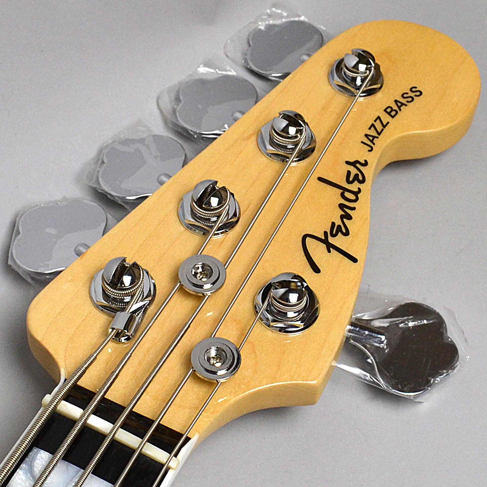 American Elite Jazz Bass V, Ebony Fingerboardのヘッド画像