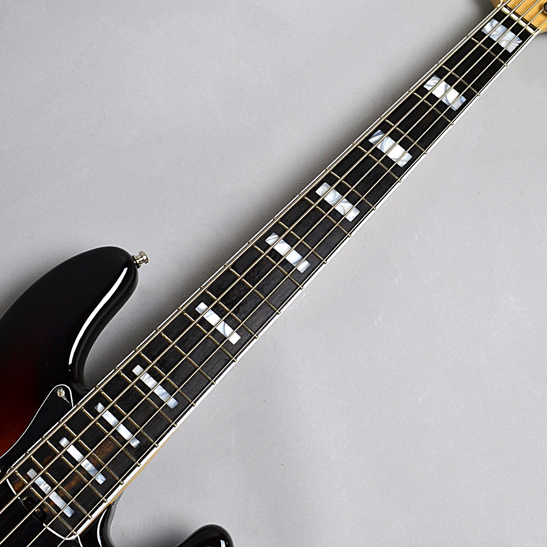 American Elite Jazz Bass V, Ebony Fingerboardのボディバック-アップ画像