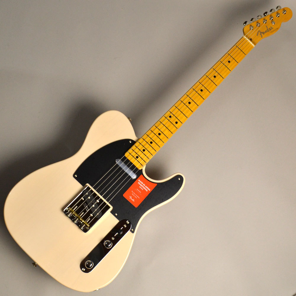 Made in Japan Traditional 50s Telecaster US Blondeのボディトップ-アップ画像