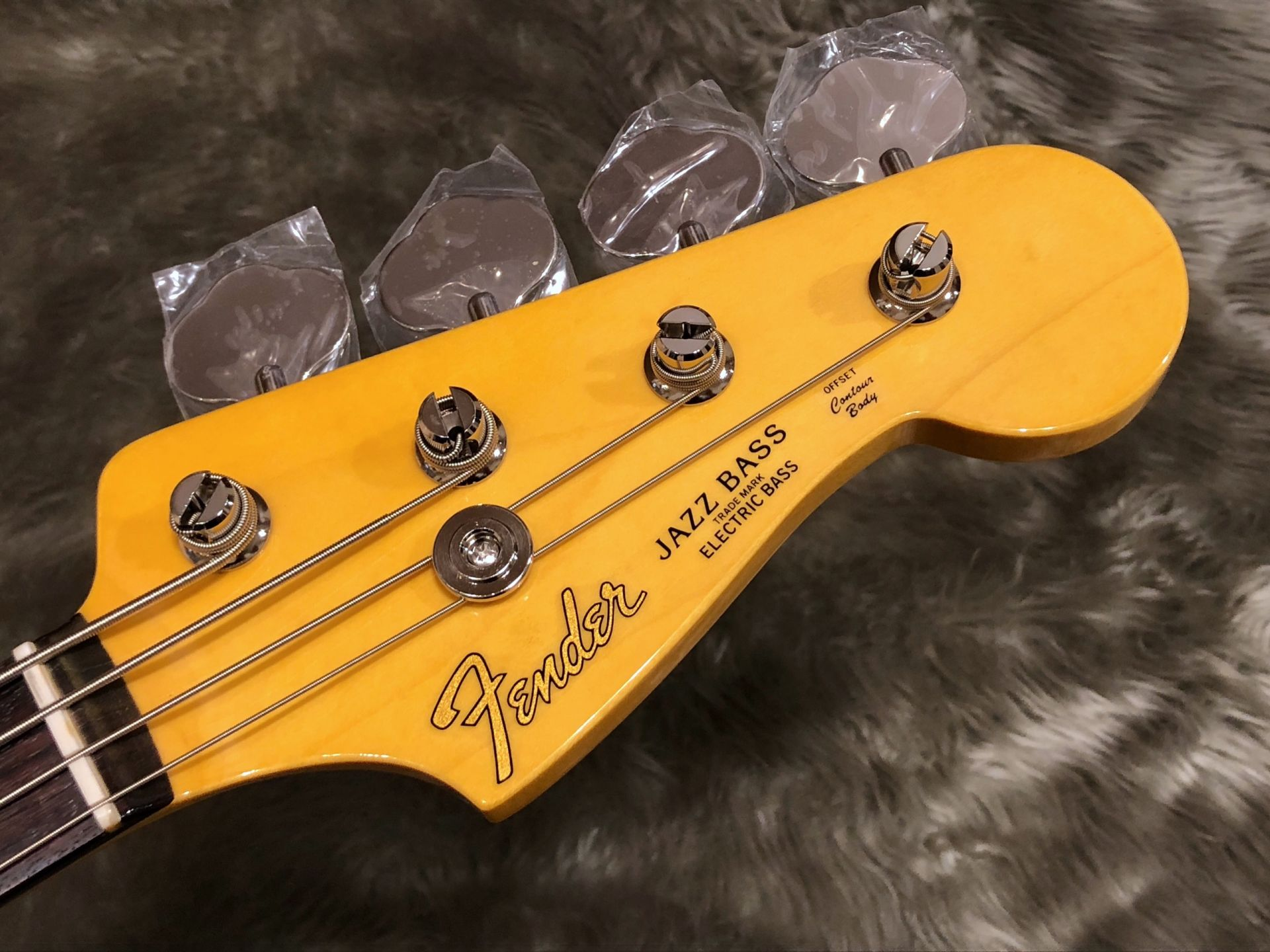 MIJ Traditional 60s Jazz Bass, Rosewoodのヘッド画像