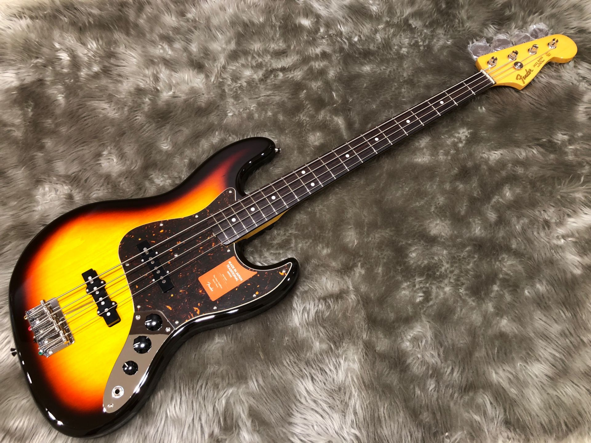 MIJ Traditional 60s Jazz Bass, Rosewood