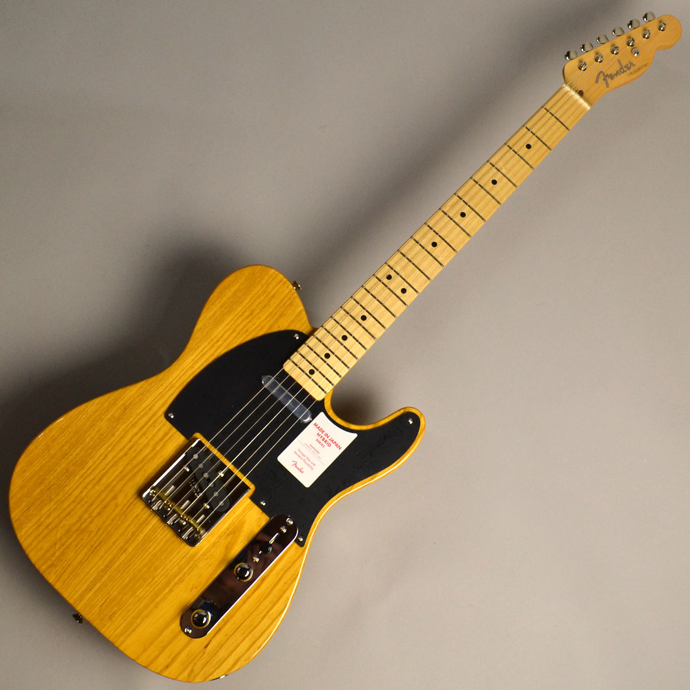 Hybrid 50s Telecaster Vintage Naturalのボディトップ-アップ画像