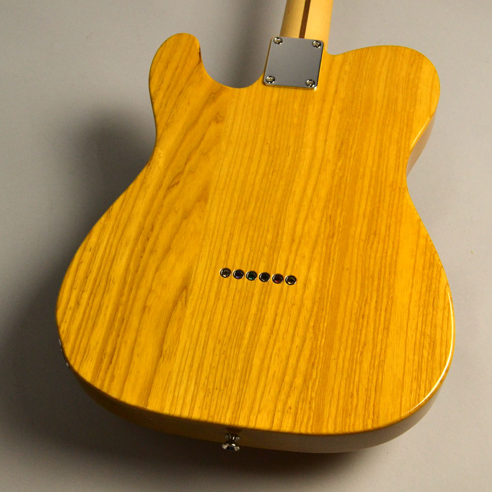 Hybrid 50s Telecaster Vintage Naturalのヘッド裏-アップ画像