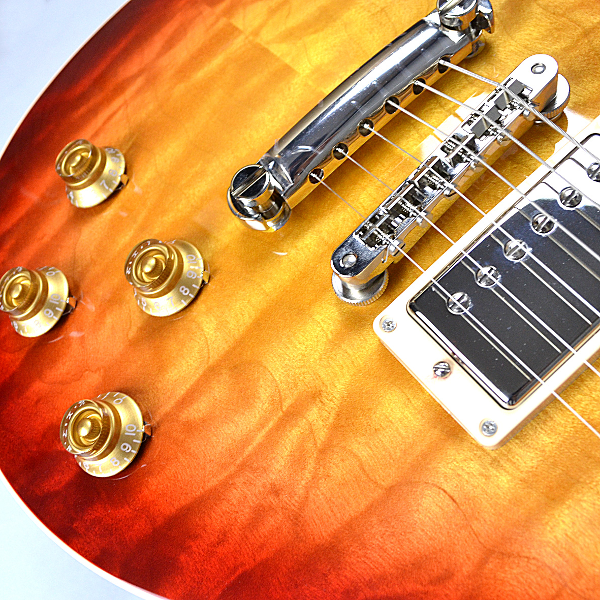 Les Paul Traditional 2017 Quilt Mapleのボディバック-アップ画像