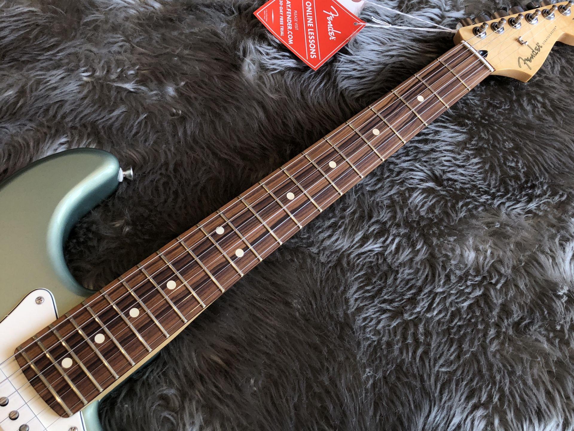 Player Stratocasterの指板画像