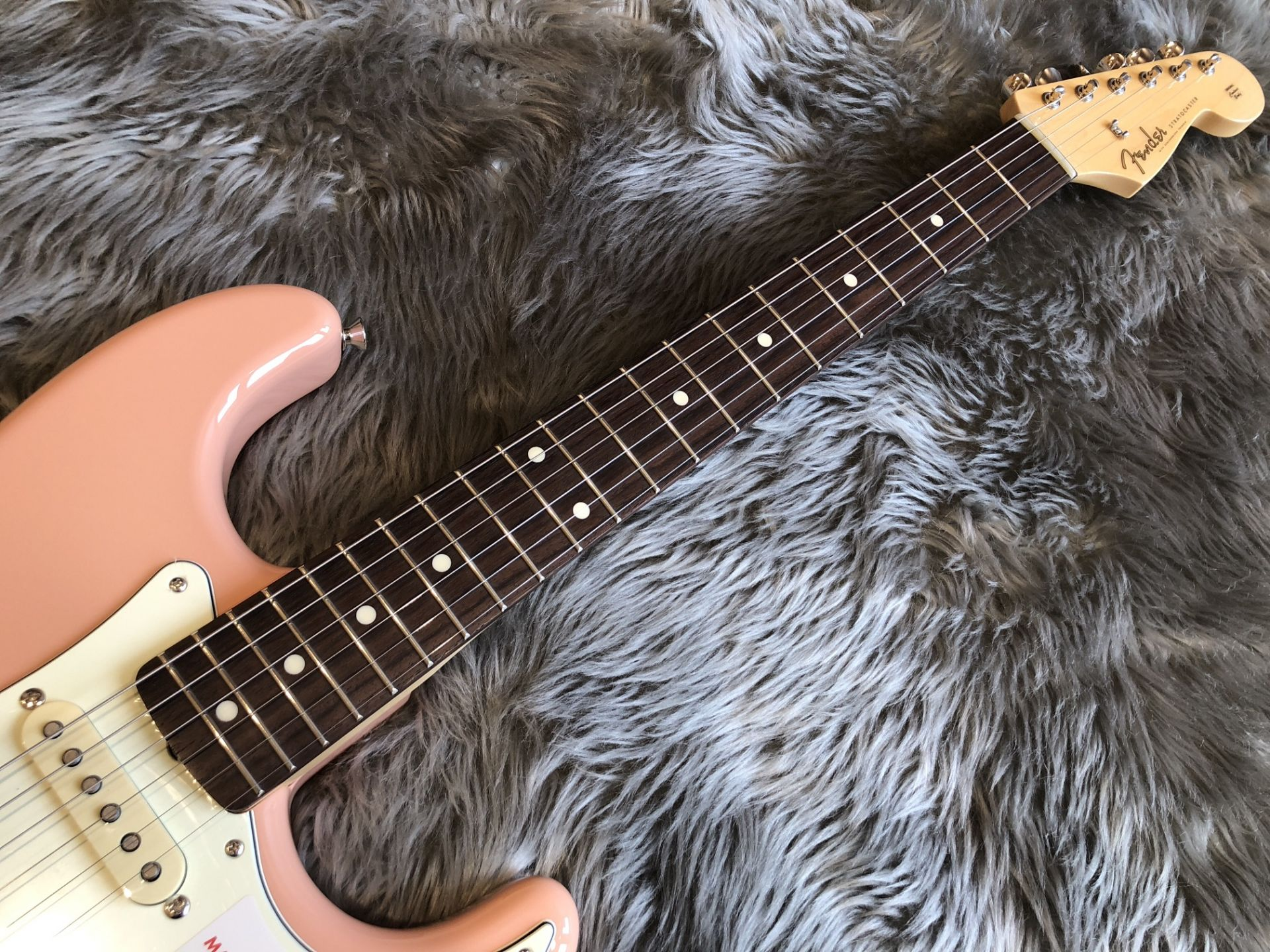 MIJ Hybrid '60s Stratocaster®, Rosewood,の指板画像
