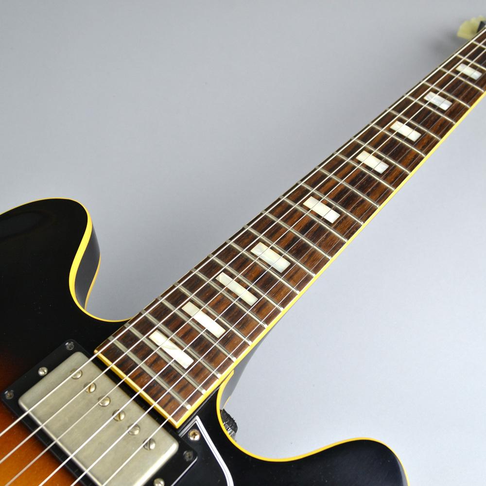Memphis 1963 ES-335 VOS Historic Burstのボディバック-アップ画像