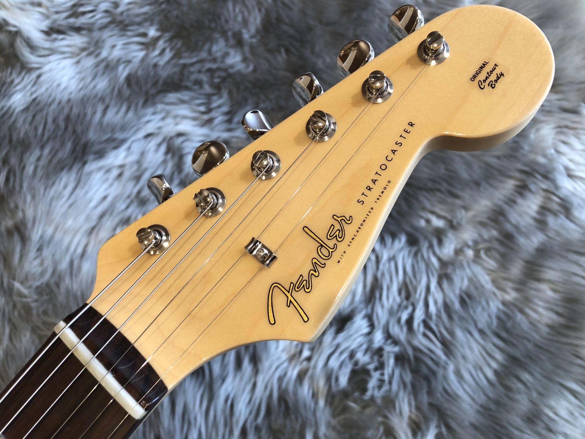 MIJ Hybrid '60s Stratocaster®, Rosewood,のヘッド画像