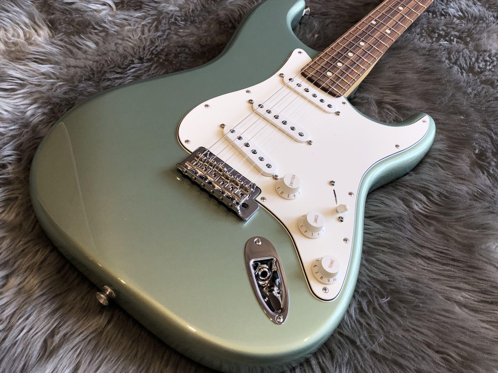 Player Stratocasterのボディトップ-アップ画像