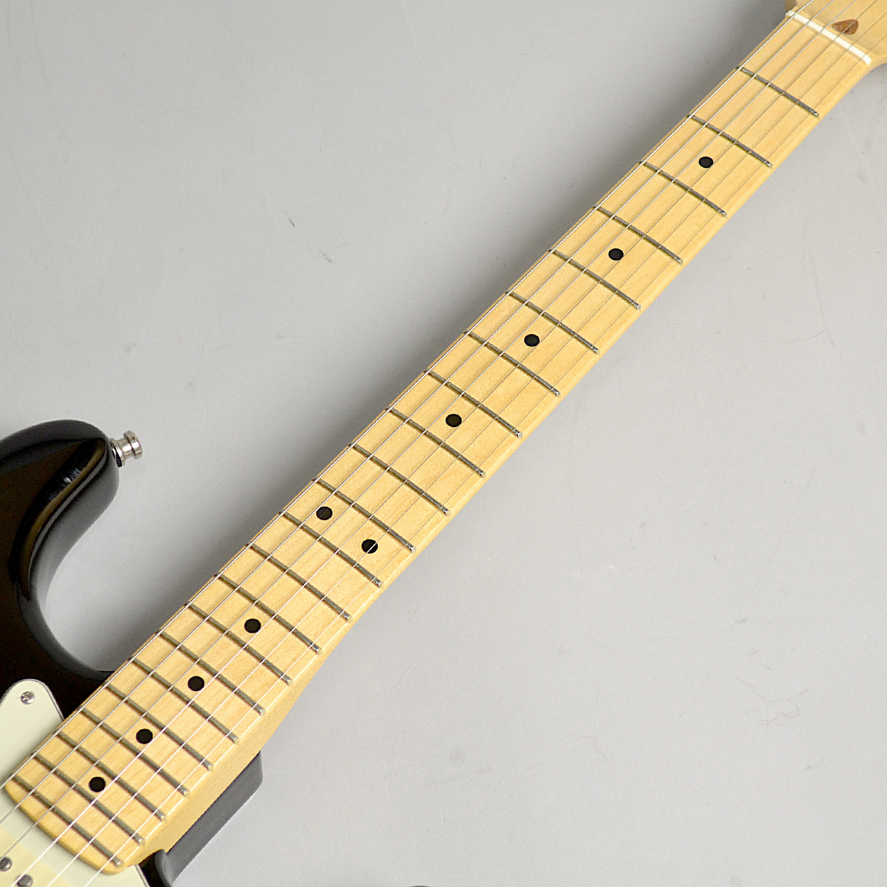 American Professional Stratocaster/M BLKの指板画像