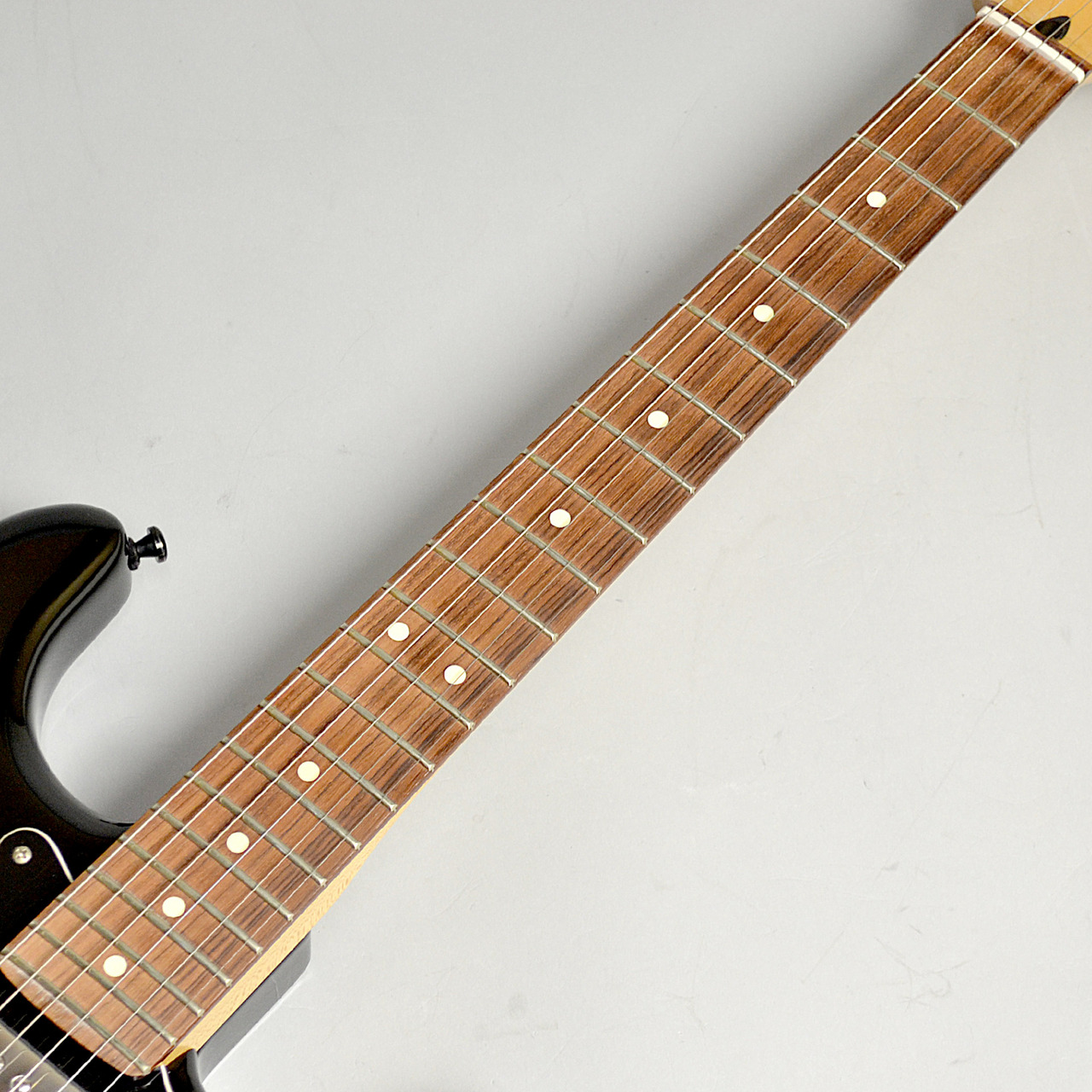 Blacktop Stratocaster HHの指板画像
