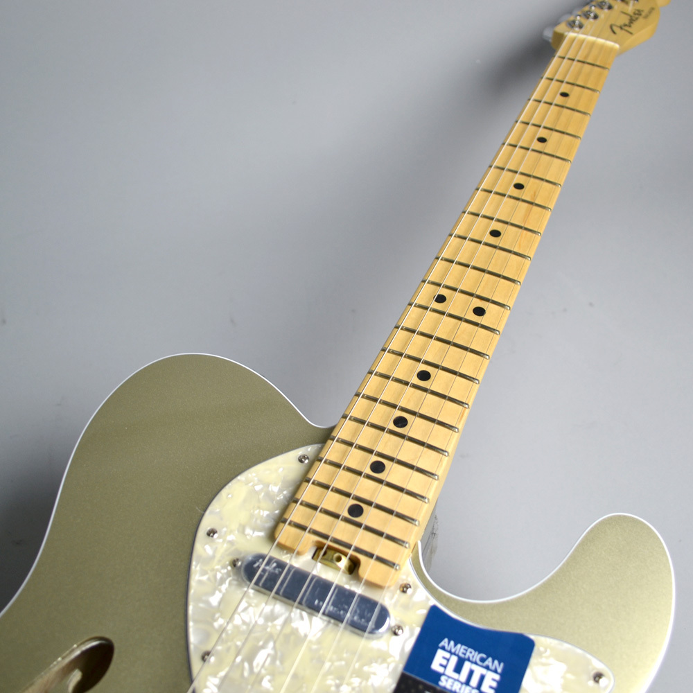 AMERICAN ELITE TELECASTER THINLINEのボディトップ-アップ画像