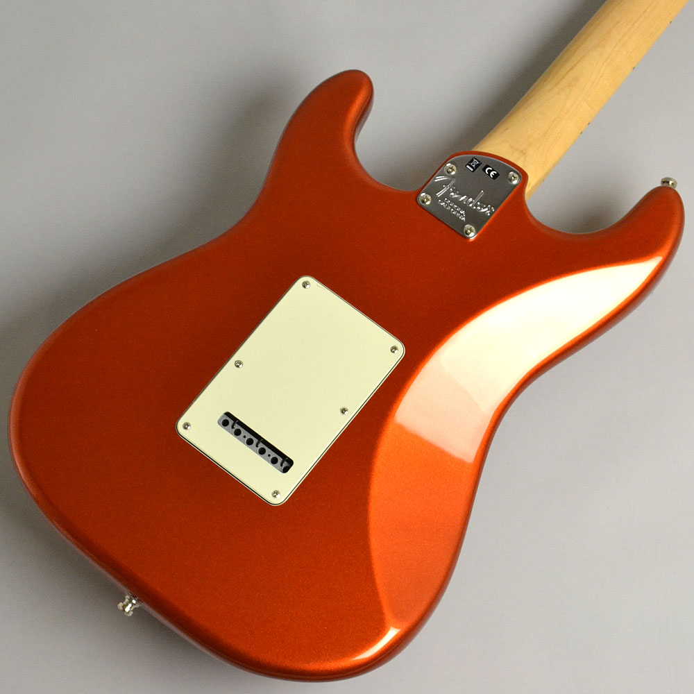 AMERICAN ELITE STRATOCASTER/MAPLE Autumn Blaze Metallicのボディバック-アップ画像