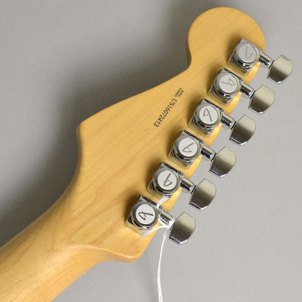 AMERICAN ELITE STRATOCASTER/MAPLE Autumn Blaze Metallicのヘッド裏-アップ画像