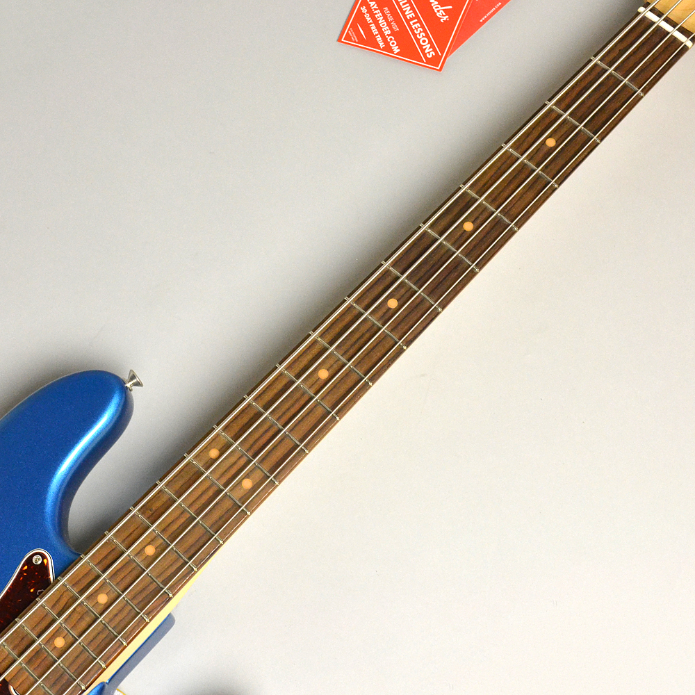 AMERICAN ORIGINAL '60S PRECISION BASS Lake Placid Blueの指板画像