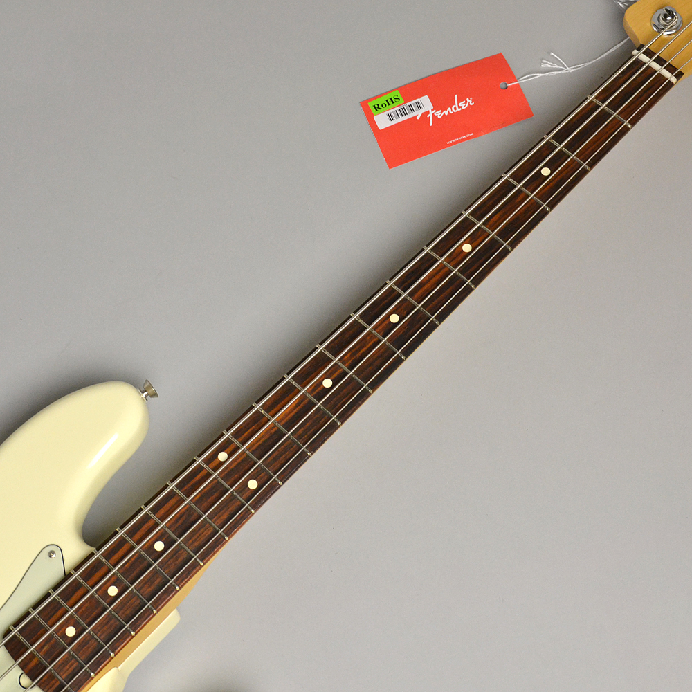 AMERICAN PROFESSIONAL JAZZ BASS Olympic Whiteの指板画像