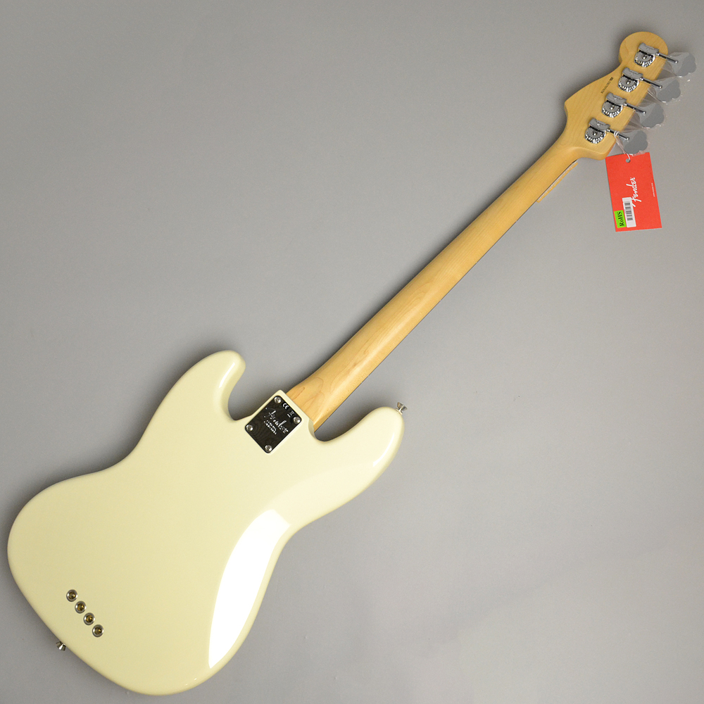 AMERICAN PROFESSIONAL JAZZ BASS Olympic Whiteの全体画像(縦)