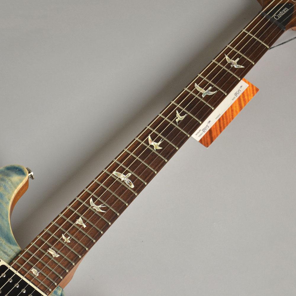Custom24 PR Faded Whale Blueの指板画像