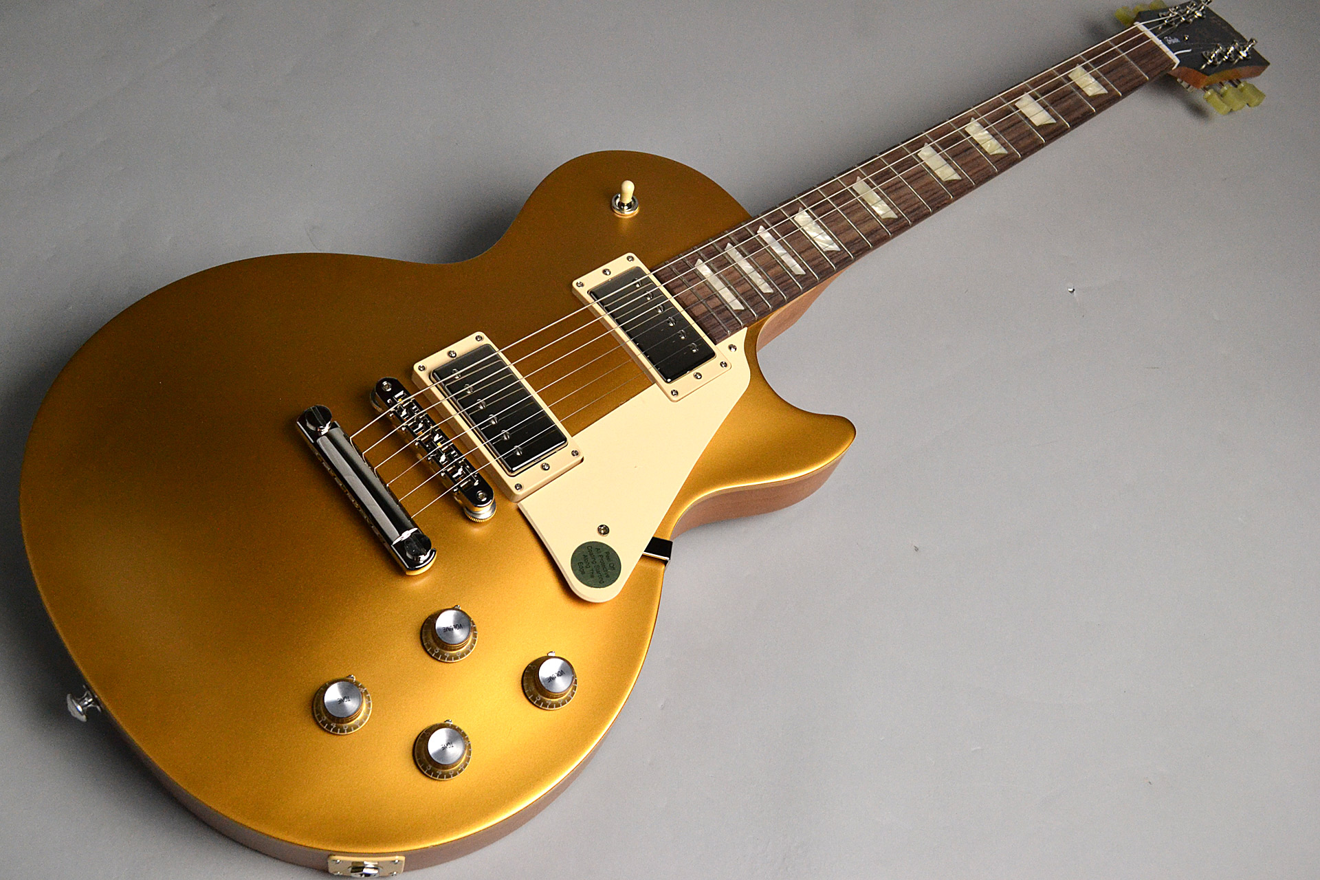 Les Paul Tribute 2018 Satin Gold Top