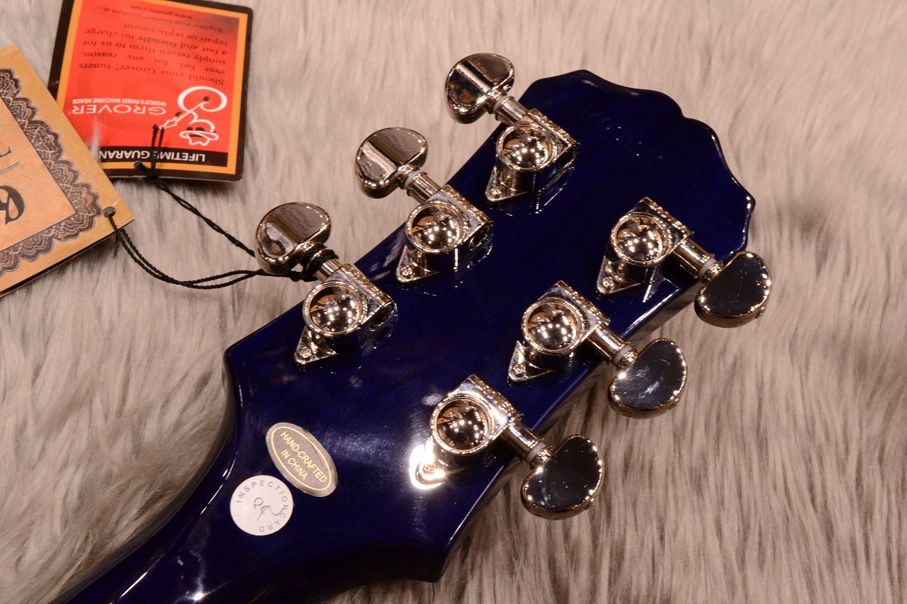Les Paul STANDARD PLUS-TOP PRO (Probuckers & Coil-Tap)のヘッド裏-アップ画像
