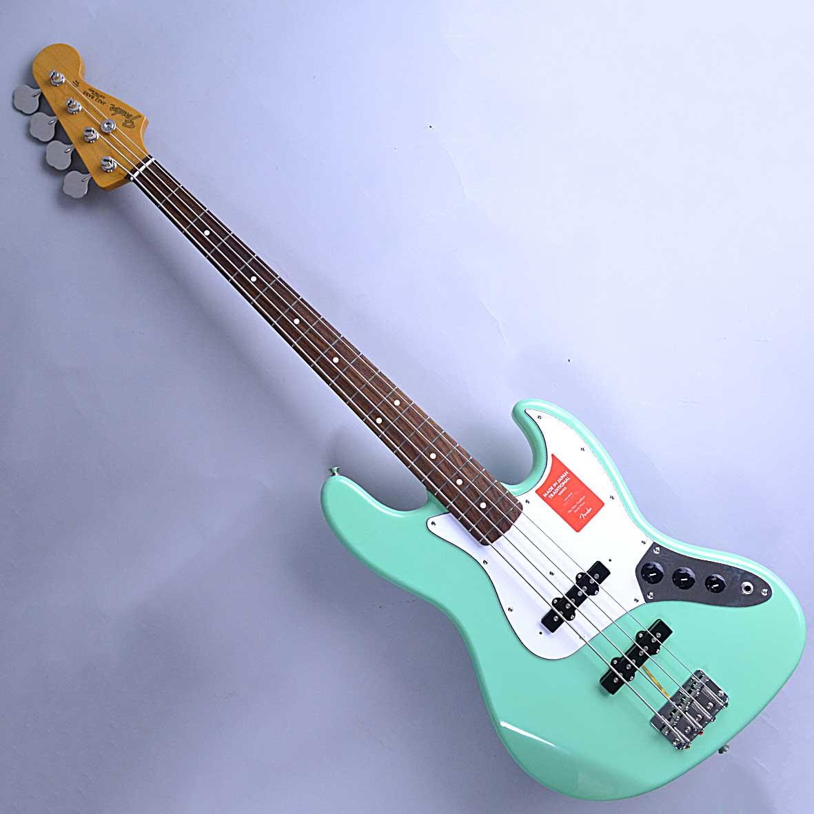 Fender TRAD 60S JASS BASSのボディトップ-アップ画像