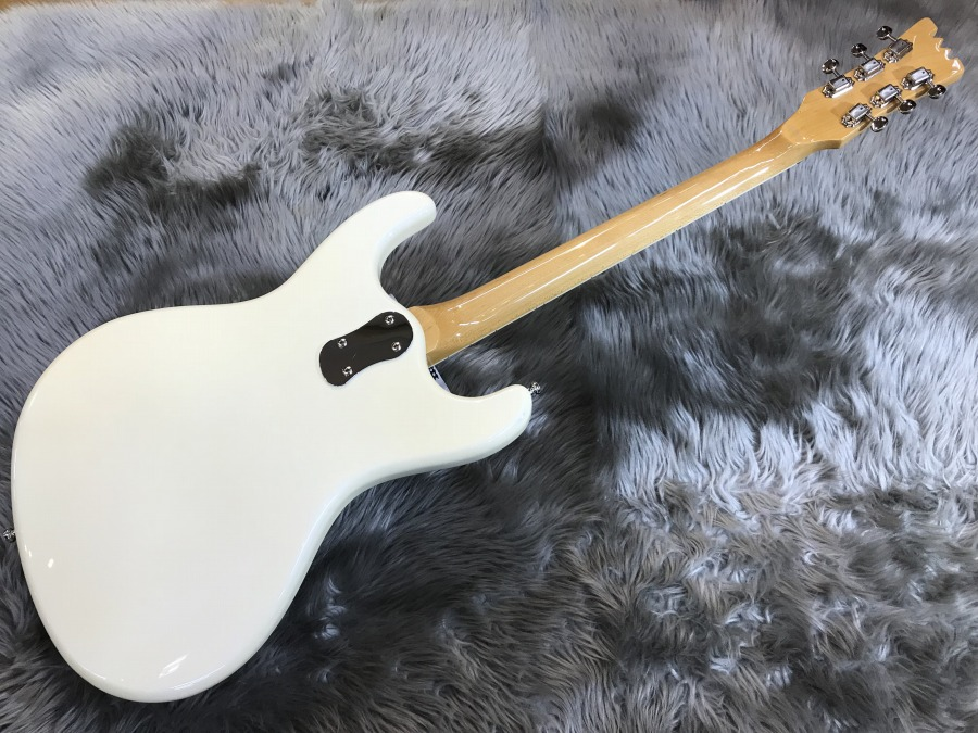 Super Excellent' 65 Pearl Whiteのボディバック-アップ画像