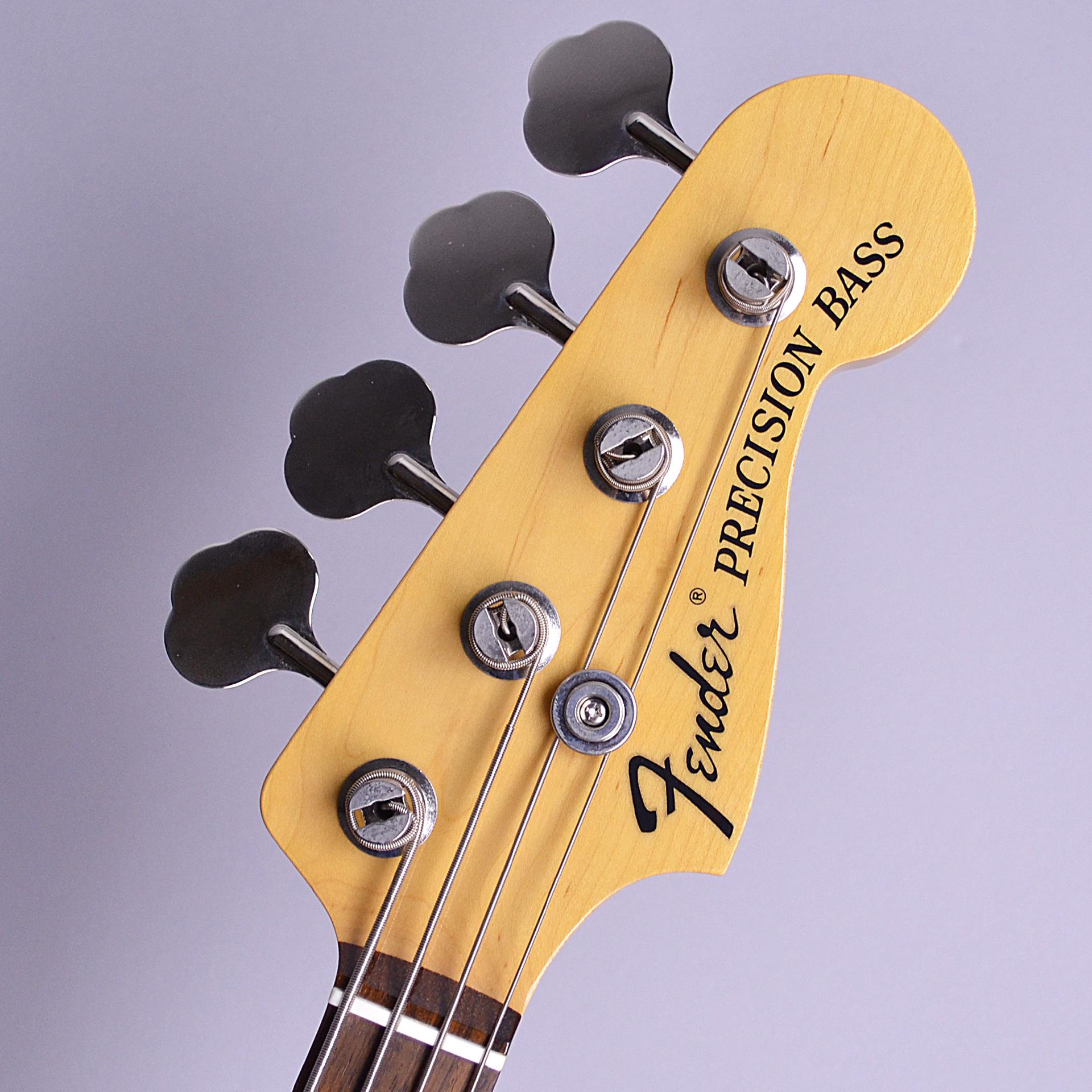 Japan Exclusive Series Classic 70s Precision Bassのヘッド裏-アップ画像