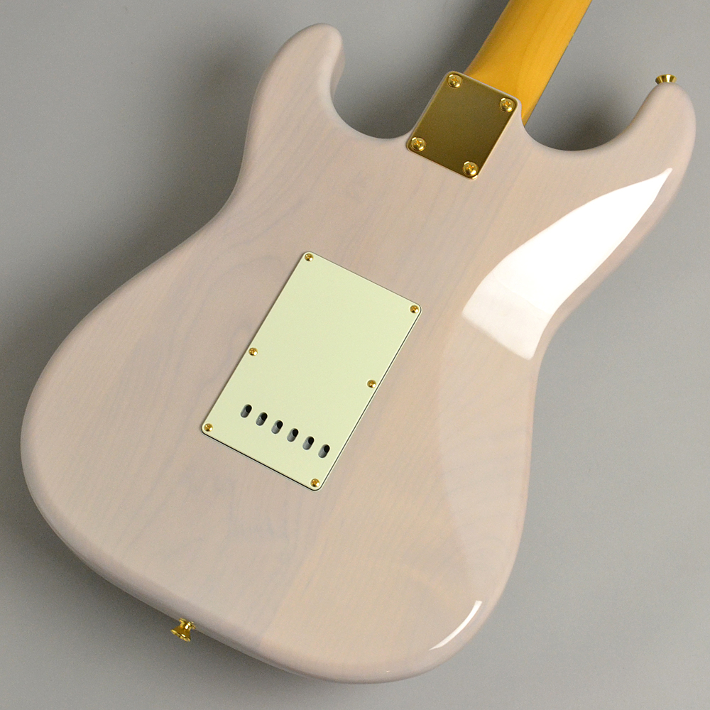 MADE IN JAPAN TRADITIONAL 60S STRATOCASTER Gold Hardware US Blondeのボディバック-アップ画像