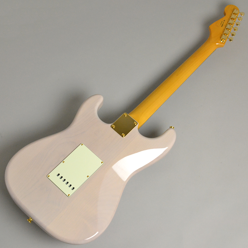 MADE IN JAPAN TRADITIONAL 60S STRATOCASTER Gold Hardware US Blondeの全体画像(縦)