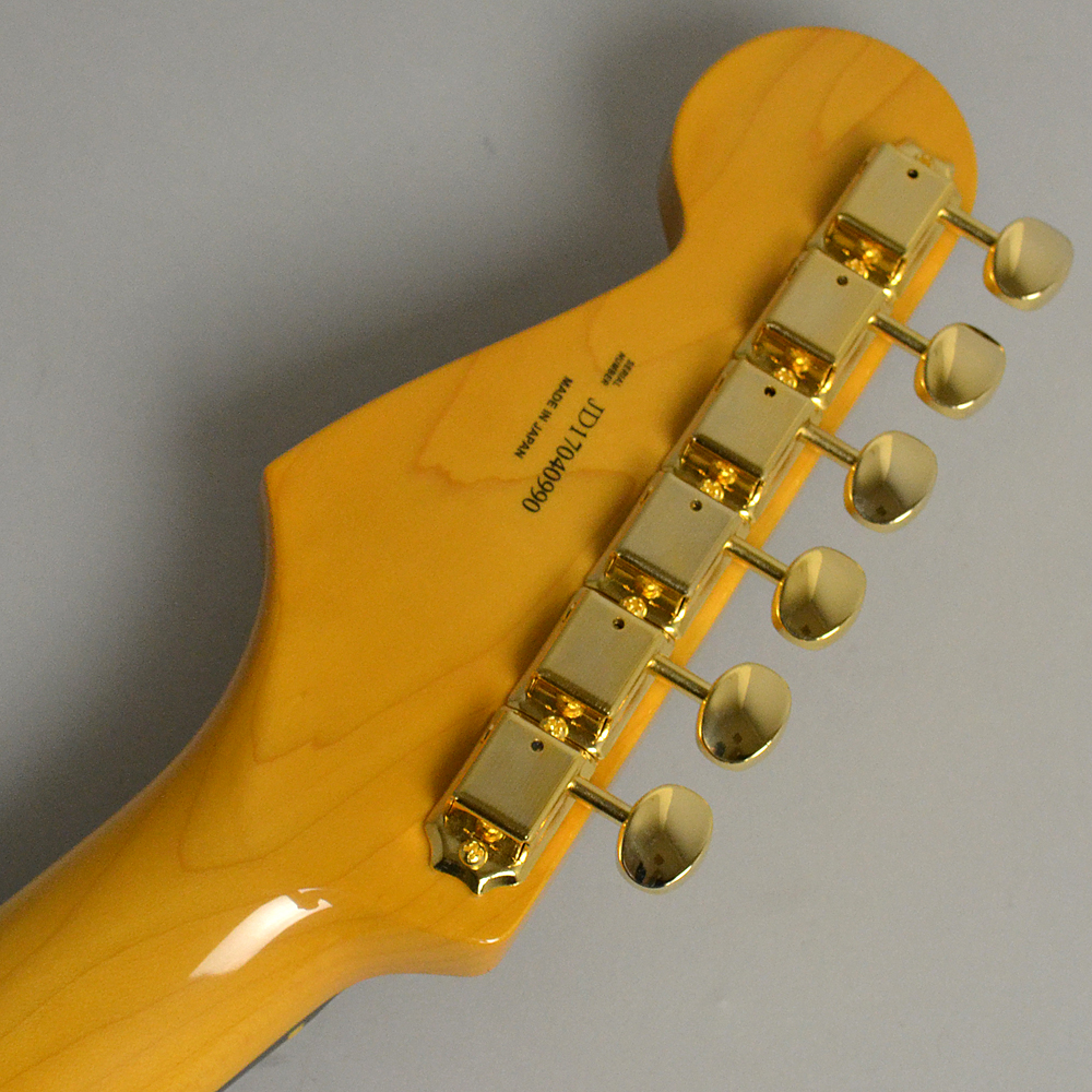 MADE IN JAPAN TRADITIONAL 60S STRATOCASTER Gold Hardware US Blondeのヘッド裏-アップ画像