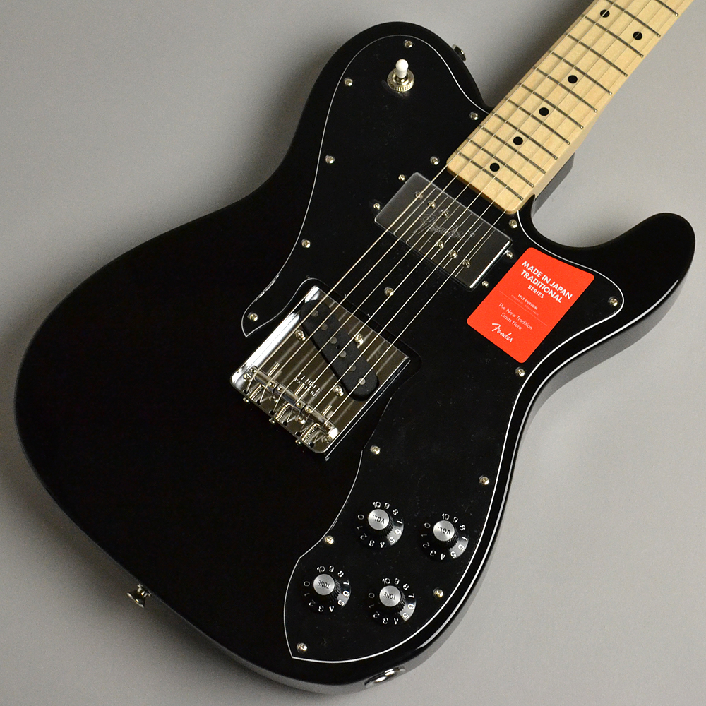 MADE IN JAPAN TRADITIONAL 70S TELECASTER CUSTOM Blackのボディトップ-アップ画像