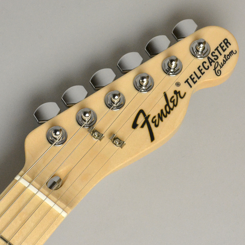 MADE IN JAPAN TRADITIONAL 70S TELECASTER CUSTOM Blackのヘッド画像