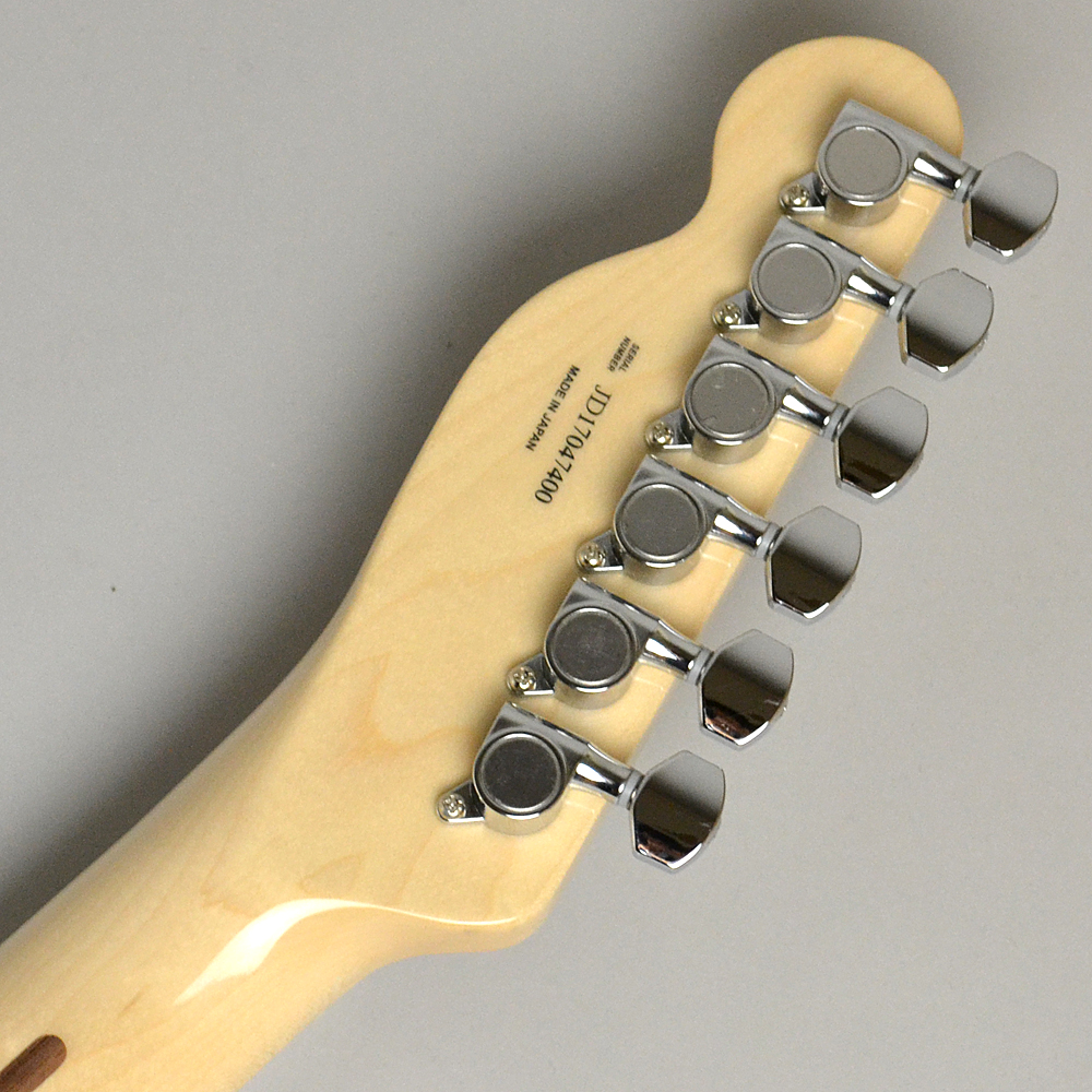 MADE IN JAPAN TRADITIONAL 70S TELECASTER CUSTOM Blackのヘッド裏-アップ画像