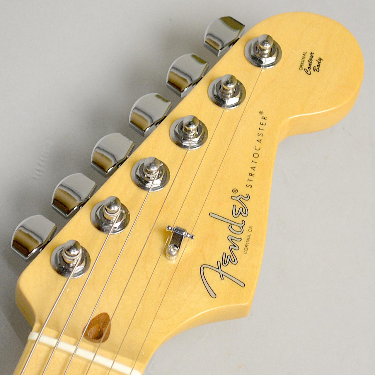 American Professional Stratocaster/M BLKのヘッド画像