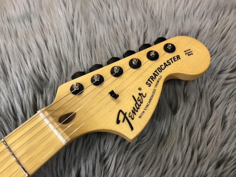 Ken Stratocaster Galaxy Red【Kenシグネイチャー】のヘッド裏-アップ画像