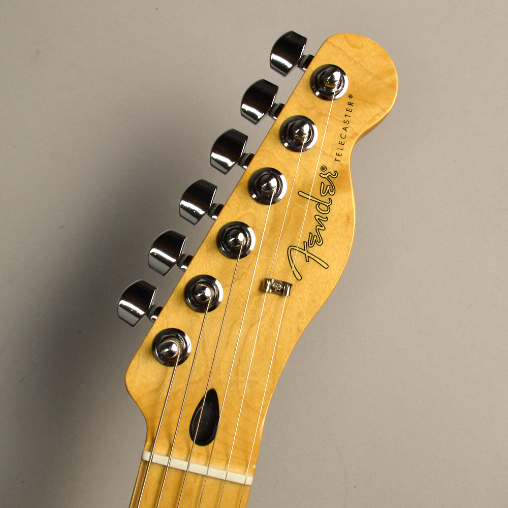 Player Telecaster Mapleのヘッド画像