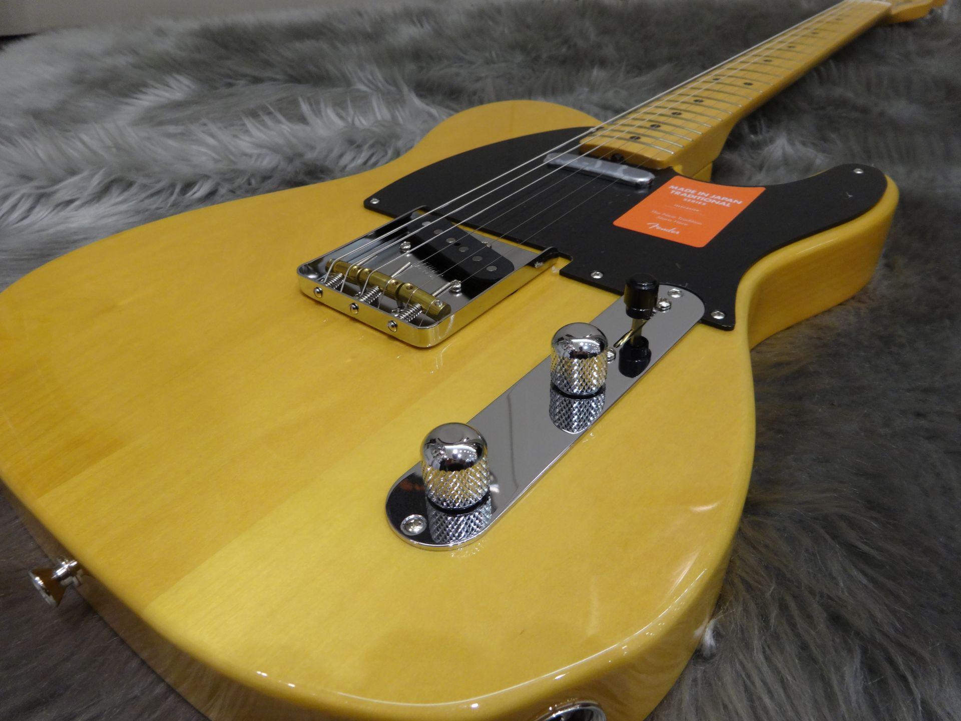 TRAD 50S TELE Fenderのボディトップ-アップ画像